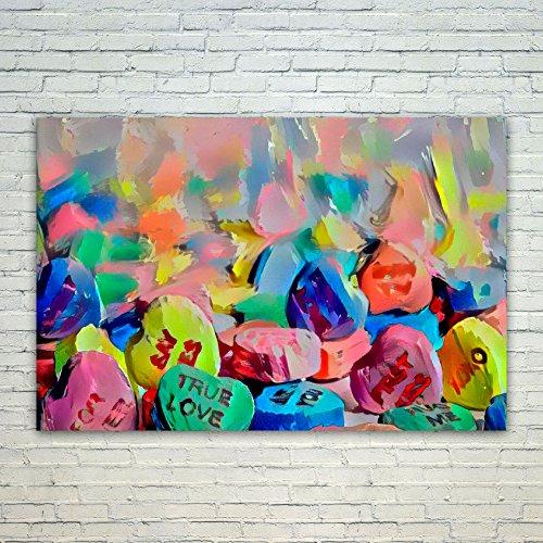 Westlake Art Art Candy - 12x18 Poster Print Wall Art - Abstr