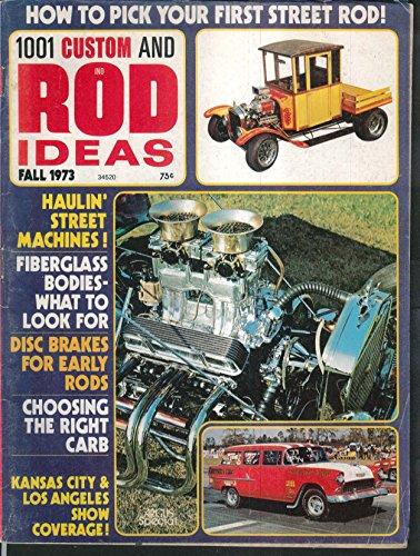 Rod Custom Suspension (1001 CUSTOM & ROD IDEAS Jag v Corvette Suspension LA Roadster Show ++ Fall 1973)