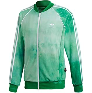 01172505c adidas Mens Pharrell Williams Hu Holi SST Track Jacket - Green CW9104 (M)