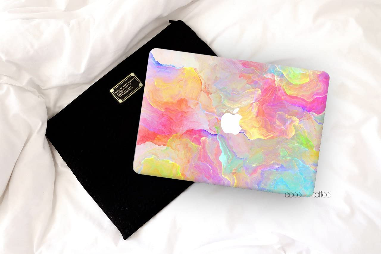 Vanilla Manila Highest-Grade Vinyl Skin Sticker Compatible with MacBook New Retina 13 Coco and Toffee A1706//A1708//A1989