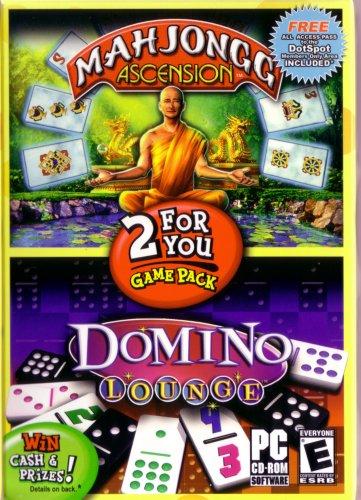 Mahjongg Ascension and Domino Lounge 2 Pack - PC (Pc Lounge)