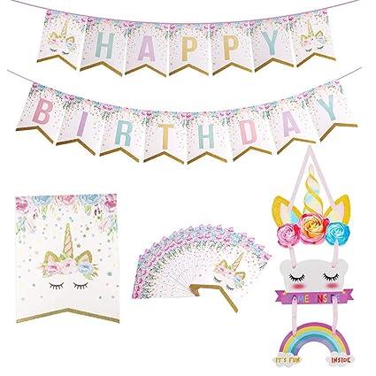Amazon.com: Accesorios para fiestas de cumpleaños – diseño ...