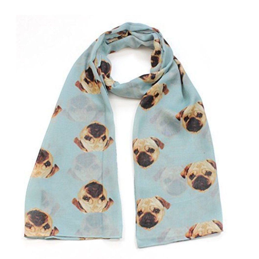 Headscarf Basset Hound Puppy Elegant Neck Scarves for Women Girls