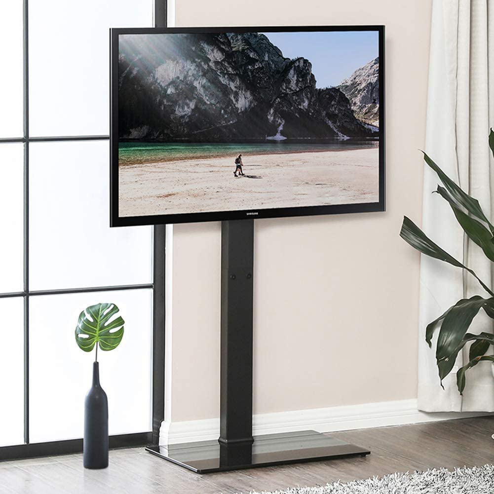 Jsmhh Base de TV, Universal Planta Soportes for TV de 37-65 Pulgadas LED LCD OLED TV de Plasma de Pantalla Plana de oficinas, hoteles, hospitales, monitores de televisión Inicio: Amazon.es: Hogar