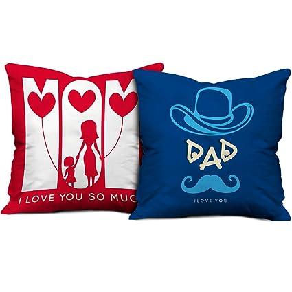 Amazoncom Indibni Parents Anniversary Gift Love You Mom Dad Quote