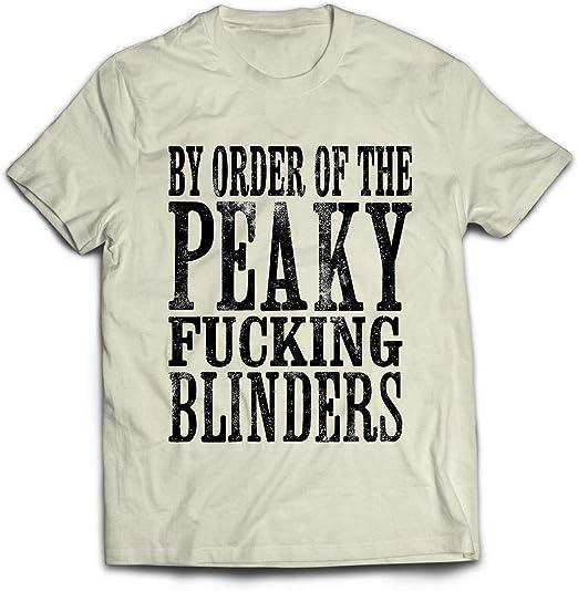 Camiseta Blanca BASADA EN Peaky Blinders Thomas Shelby 02. (3 ...
