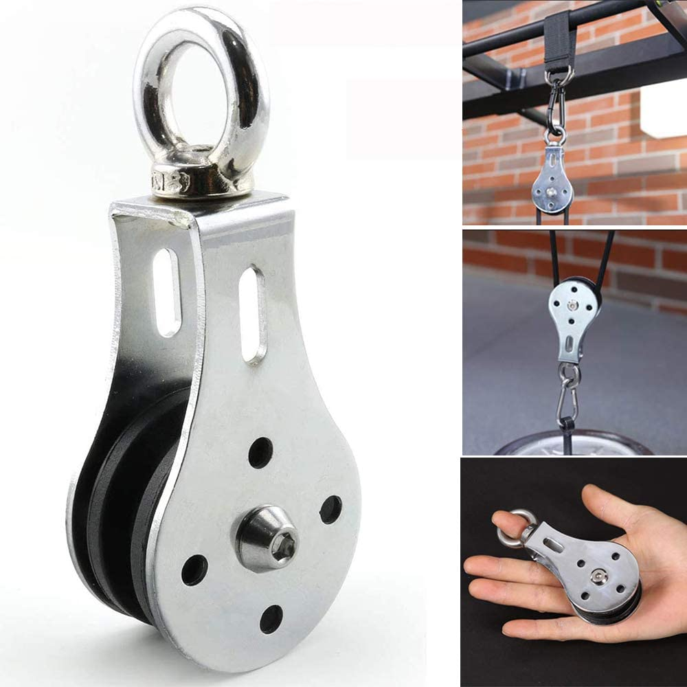 Bearing Lifting Pulley Silent Mute Home Gym Fitness Strength Training Cable
