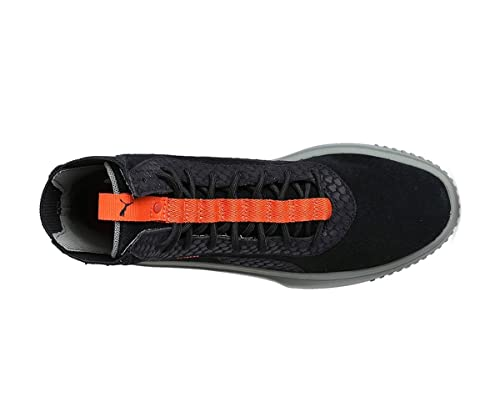 513238b9bf17 Puma Men s Black Leather Suede Rubber Breaker Shoes (42)  Buy Online at Low  Prices in India - Amazon.in