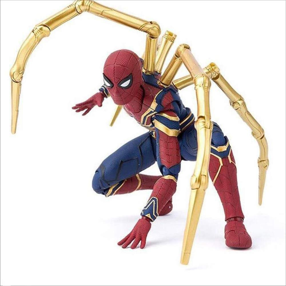 """Spider-Man Marvel the Avengers PVC Movable Model Toy Spiderman Action Figure 6/"""""""