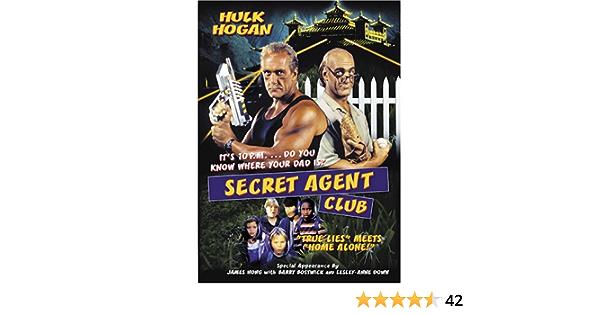 Amazon.com: Secret Agent Club : Hulk Hogan, Matthew Mccurley ...
