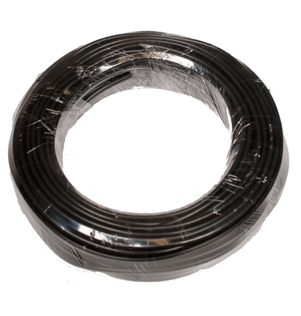 Ghost Controls AXLV 100' 16 AWG Wire, 2-Conductor (color coded), Stranded, Direct Burial, Low Voltage Wire for Gate Openers or Solar Power