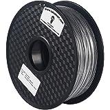 SainSmart Metal-Silver-1KG1.75 Metal PLA Blended 1.75 mm 1 kg Filament for 3D Printers (Steel Silver)