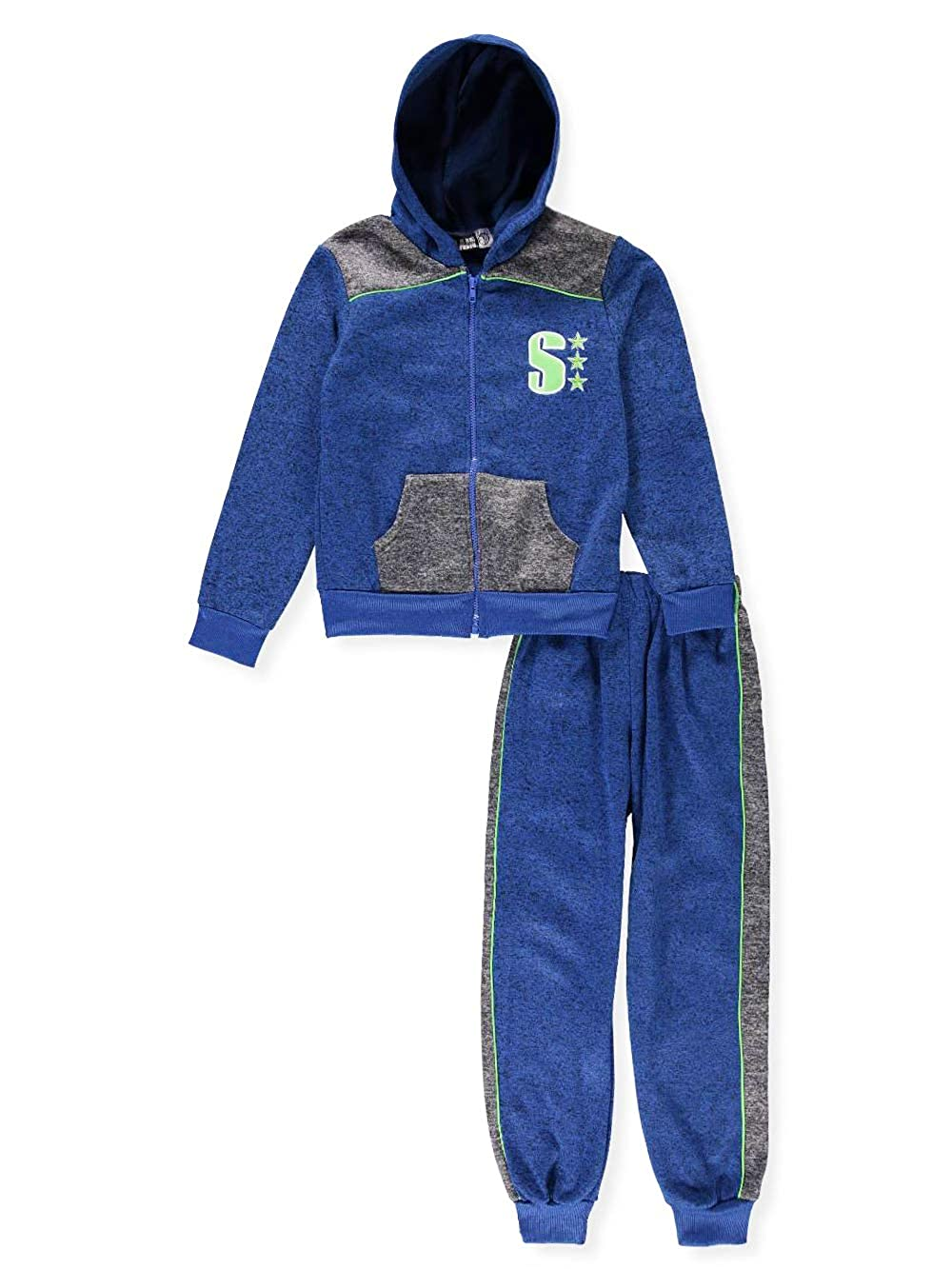 SLAM Boys' 2-Piece Sweatsuit Pants Set