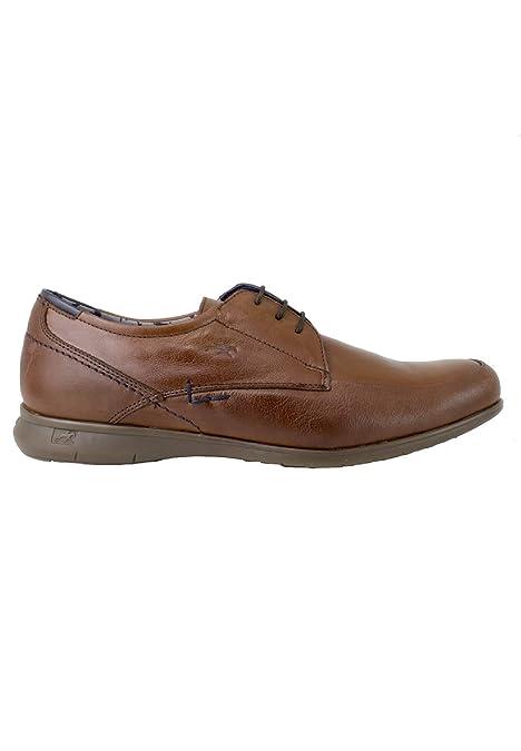Fluchos - Zapato con Cordones Blucher Cuero: Amazon.es: Zapatos y complementos