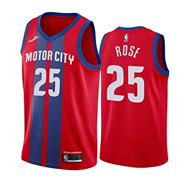 LXMR NBA No. 25 Jersey de Baloncesto, Derrick Rose Jersey Chaleco ...