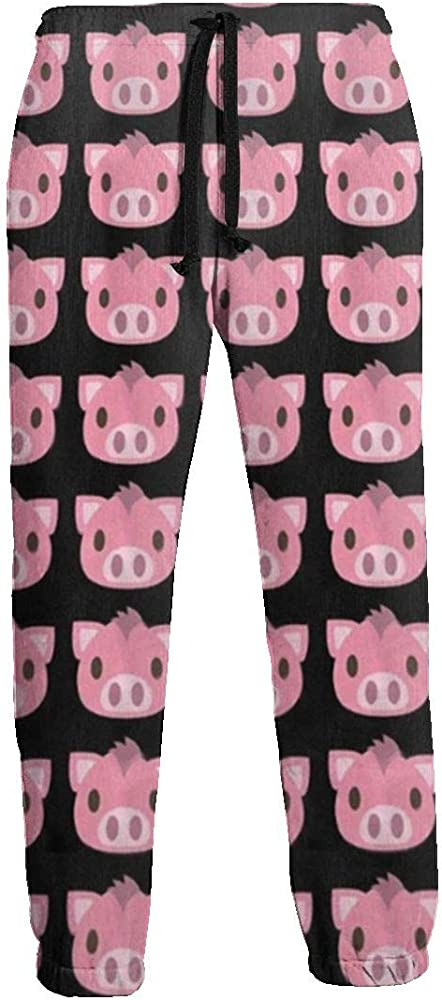 Pig Face-1 Hip Hop Premium Slim Fit Pantalones Deportivos para ...