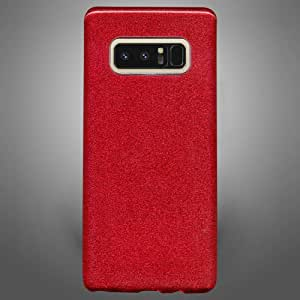 Samsung Galaxy Note 8 Glitter Back Cover Red
