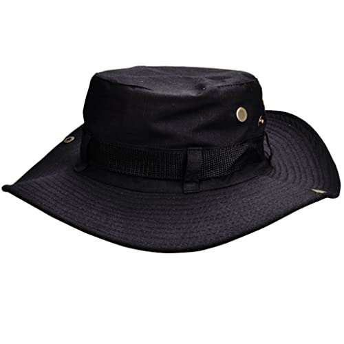 1a11fd2505e Beileer Stylish Sun Hat UV Protection Outdoor Bucket Hat for Outdoor Fishing  Camping Cycling Hunting Golf