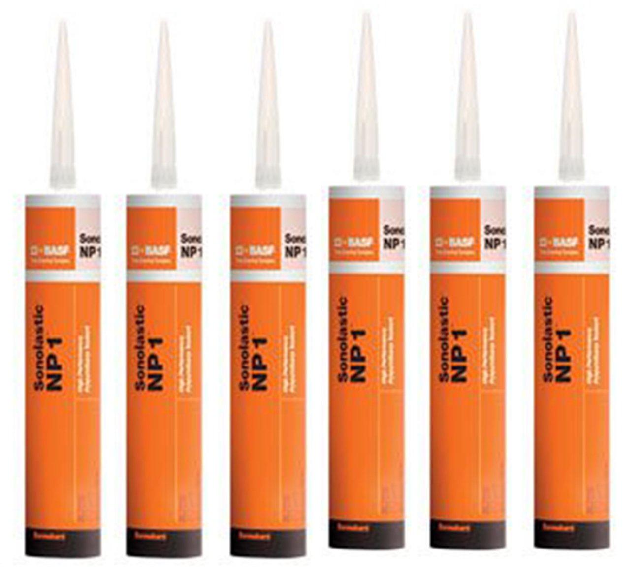 BASF Sealant NP1 Polyurethane White 10.1 Oz - Case of 6