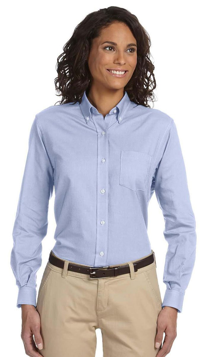 Van Heusen Ladies Classic Long-Sleeve Oxford 59800