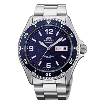 a4f9fab562db Orient Reloj Analogico para Mujer de Automático con Correa en Acero  Inoxidable FAA02002D3  Amazon.es  Relojes