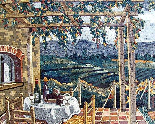 Mozaico - Villaggio Italiano Handmade Mosaic Marble and Natural Stone Artwork Design MS316 by Mozaico