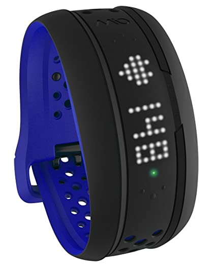 Mio Fuse Heart Rate Training with Activity Tracker, Large (Cobalt Blue) <span at amazon