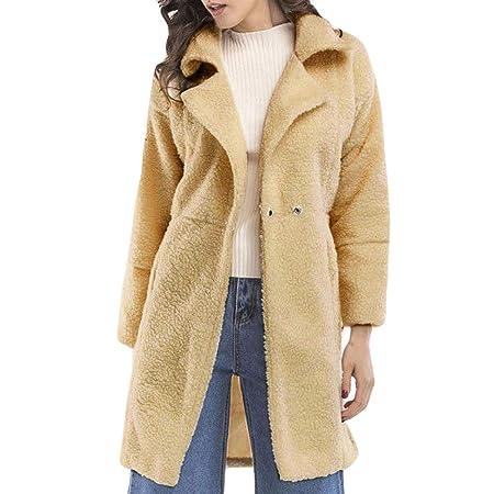Abrigos Mujer Invierno Rebajas Elegantes Talla Grande Moda Blusas Mujer Suéter Abrigo Jersey Mujer Otoño Invierno Sexy Casual Manga Larga con Cremallera ...