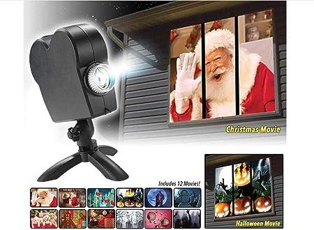 WAYAOZJ Una Ventana de Las Maravillas de Luces Led proyector, 12 ...