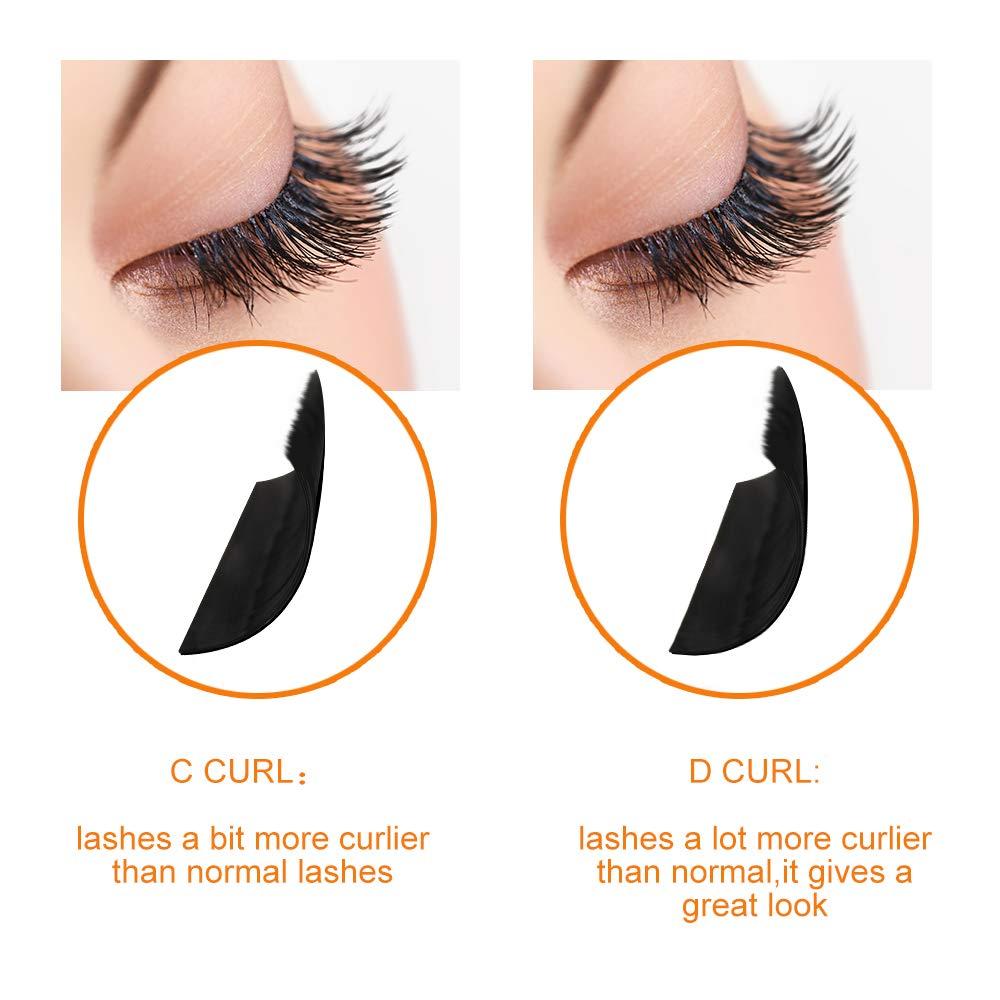 140db2a28b4 Amazon.com : 3 Tray Rapid Volume Eyelash Extension 0.10 D Curl  11mm+11mm+11mm | Optional C/D Curl 8-15mm and Mix Length | : Beauty