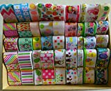 Mix Ribbon lively easter day ribbon set mixed Style/size randomly 12y/lot (1y/pc)