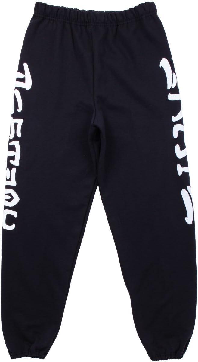 Black Thrasher Skate and Destroy Sweatpants