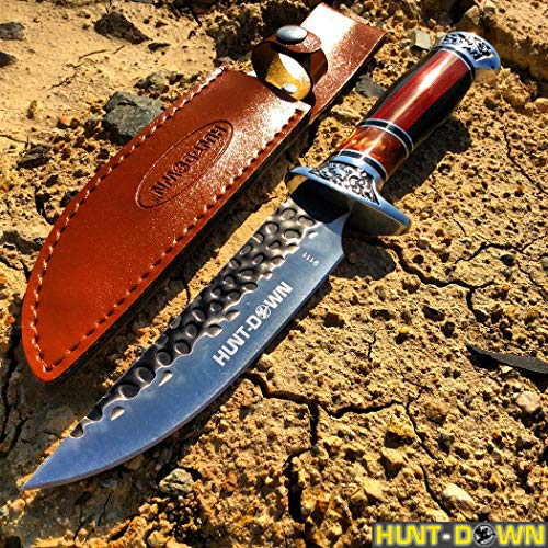 Isaazon 12″ Fantasy Hunting Knife Fixed Blade Survival Stainless Steel Knives Outdoor Camping New