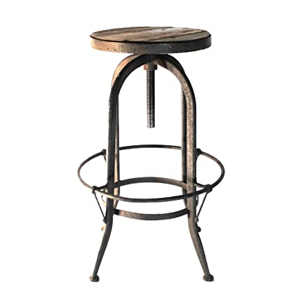 Astounding Amazon Com The Kings Bay Lovely Wooden And Iron Country Machost Co Dining Chair Design Ideas Machostcouk