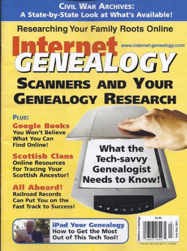 Internet Genealogy Magazine Subscription