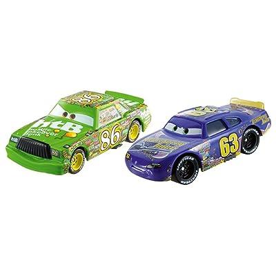 Disney Pixar Cars Collector Die-cast Chick Hicks & Lee Revkins 2-Pack: Toys & Games