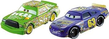 Mattel Cars - Pack 2 Coches Cars - Chick Hicks y Transberry Juice: Amazon.es: Juguetes y juegos