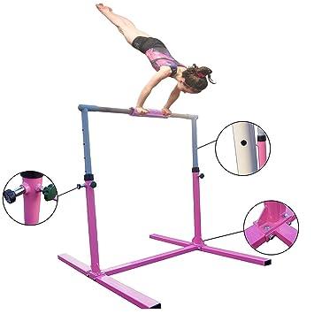 42a2e7ffa6c3 Seababyhouse Gymnastics Bars Kids Children Training Equipment Kip Bar  Junior Kip High Bar, 4ft,