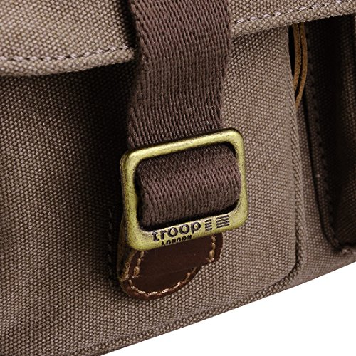 Small Canvas London Troop Bag Heritage TRP0271 Messenger S8tqg