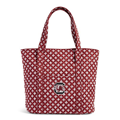 (Vera Bradley NCAA South Carolina Fighting Gamecocks Women's Classic Tote, Cardinal/White, One Size)
