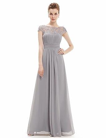 1436b7ced0172 EASONDDD パーティードレス レディース ロング ワンピース 花柄 刺繍 レース切り替え マキシ丈 シンプル ドレス フォーマル