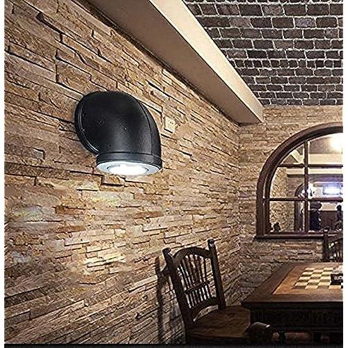 GUOQ Rétro Style Industriel Fer Tube Luminaire Applique Murale Créatif  Vintage Design Couloir Lampe Murale Pour