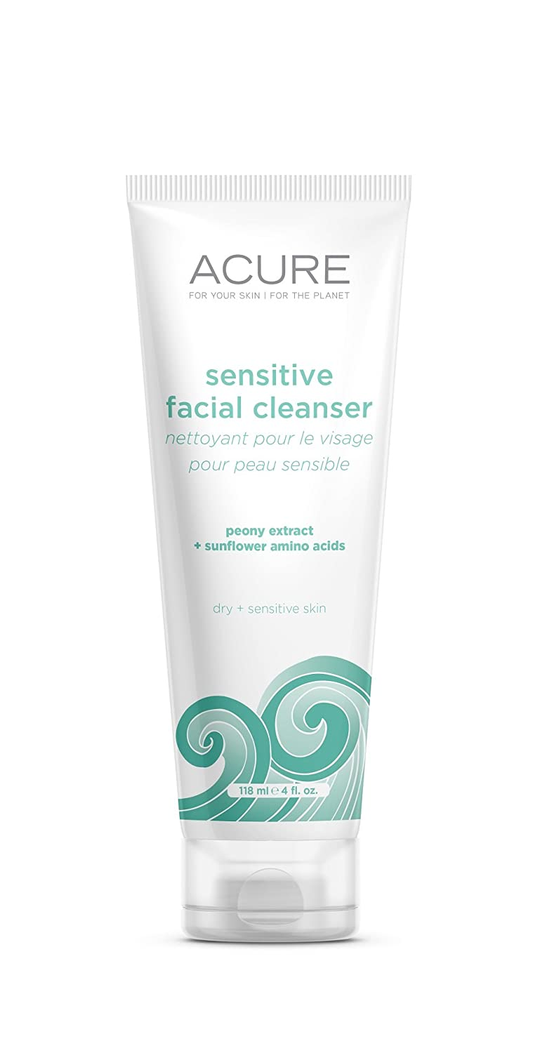ACURE Sensitive Facial Cleanser, 4 Ounce