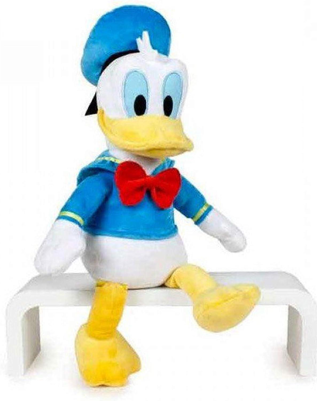Peluche Disney Pato Donald 40 cm de pie - 30 cm sentado: Amazon.es ...