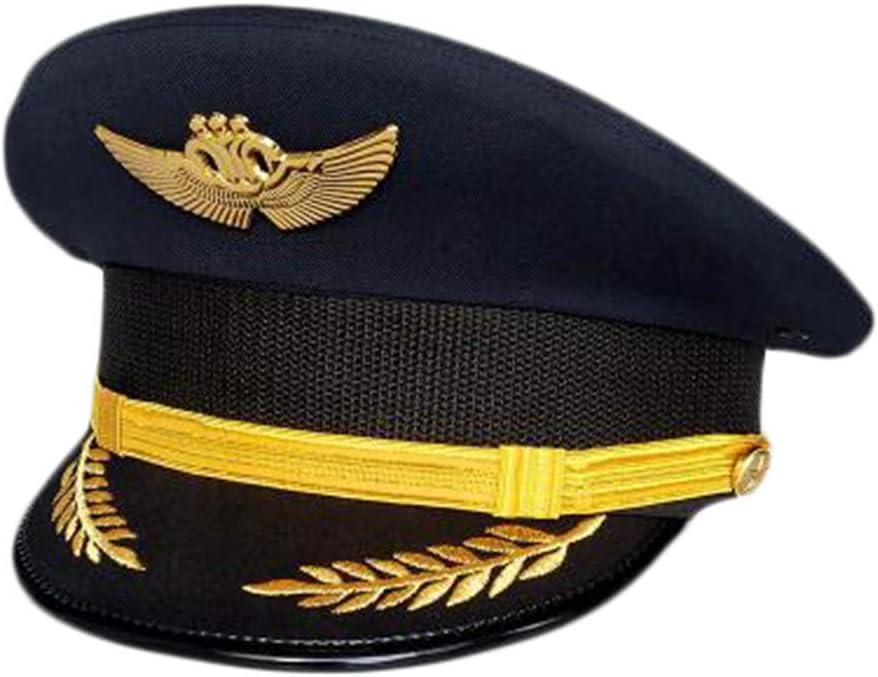 Wukong Paradise Capitán de la aeronave Cap Uniforme Aviación Gorra ...