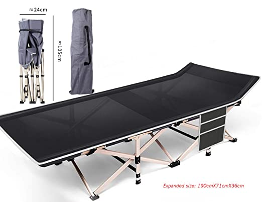 PIOOET Cama Plegable, sillón reclinable, portátil, Cama de ...