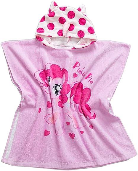 Albornoz infantil con capucha Toallas de playa Toallas – Chica ...