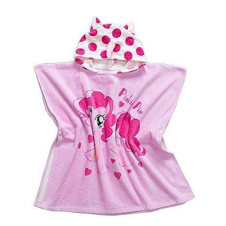 Albornoz infantil con capucha Toallas de playa Toallas – Chica joven 100% algodón Sport Toallas