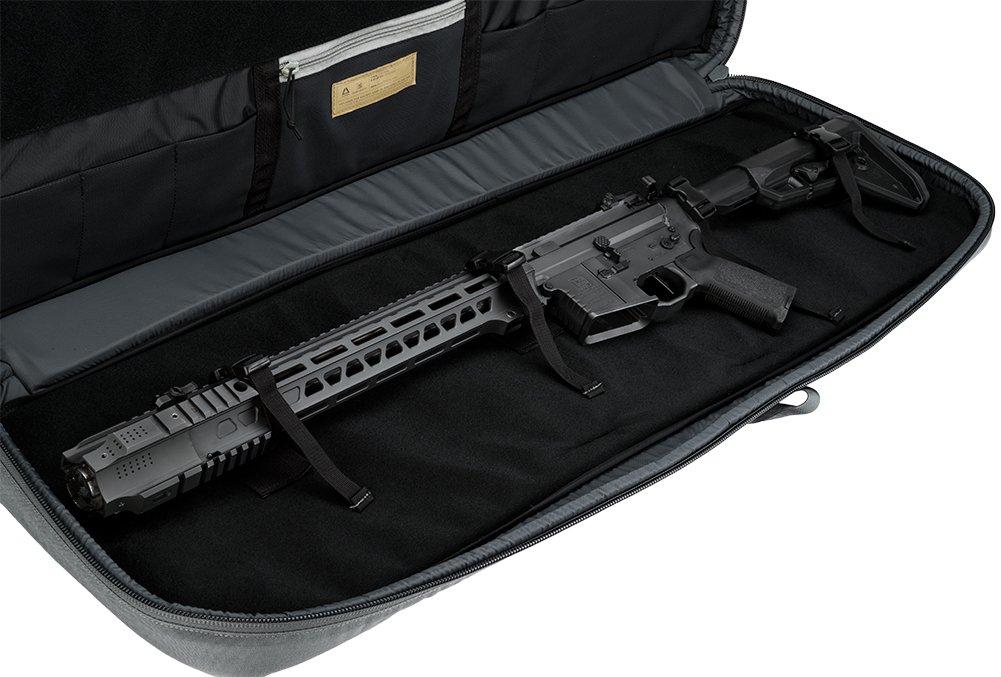 Evike Salient Arms International x Malterra Tactical Rifle Bag - Grey - (60930) by Evike (Image #4)