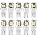 S25 1156 BA15S P21W G18 シングル球 12V車用 COB LED バックランプ ターンシグナルライト リバースランプ 高輝度?省エネ 6000K ホワイト 10個入り